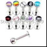 New Arrival Circular Barbells 16G CBR curved bars Hot Sale Fancy Body Jewelry 50pcs/lot Promotion Gift