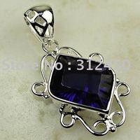 Wholeasle 5PCS joyería de plata amatista piedras preciosas joyas de envío gratis a LP0703 (China (continental))
