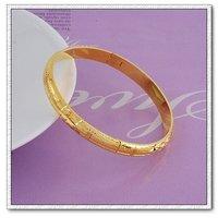 Pulsera de moda, con pulseras de cobre chapado en oro de 18 quilates, pulsera clásico, Gastos de envío gratis (China (continental))