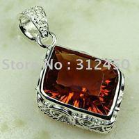 Suppry plata joyería de moda colgante de piedras preciosas carnet gratuito de envío de joyas LP0774 (China (continental))
