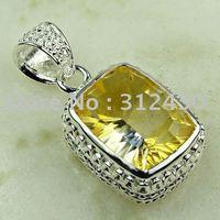 Joyería de plata hechos a mano de piedras preciosas joyas topacio místico libre LP0769 de envío (China (continental))