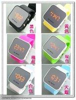 пощечина часы Автоматические силиконовые хлопать смотреть 50шт 23cmx2.0cm