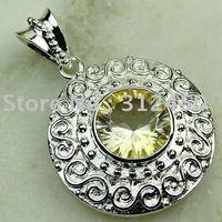 Joyas de plata caliente ventas hechas a mano de piedras preciosas joyas topacio místico libre LP0152 de envío (China (continental))