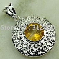 Joyas de plata caliente ventas hechas a mano de piedras preciosas joyas topacio místico libre LP0154 de envío (China (continental))