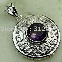 Ventas caliente 5PCS joyería de plata hechos a mano de piedras preciosas joyas topacio místico libre LP0151 de envío (China (continental))