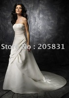 New! Free Shipping ! Exquisite Strapless Lace Chiffon Beading Wedding dresses OR29003