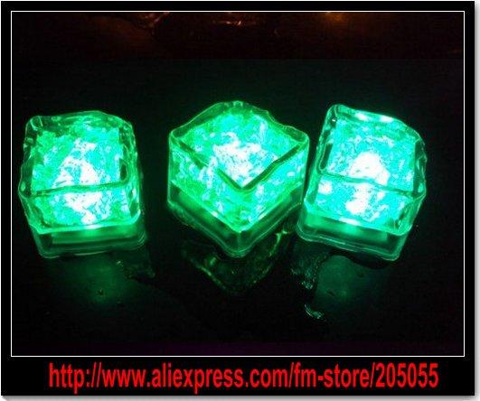 Mini Funny Square Flash light Ice Cube Lamp LED Light Powered by ...