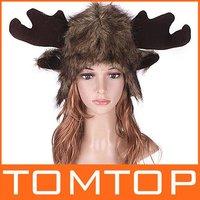5pcs/lot, мультфильм животных шляпу медведь зимой теплый плюша шляпу
