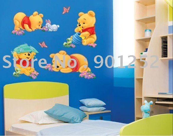 wallpaper cartoon pooh. ,Winnie the Pooh,wall