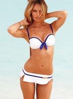 Женский закрытый купальник Fashionable Sexy V-Neck Style One piece Women Swimwear Bathing Swimsuit
