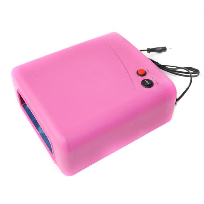 1pcs 36W Creative UV Nail dryer ,120S timing , nail UV LAMP -Pink HD