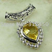 Suppry 5PCS wholeasle plata joyería de piedras preciosas topacio mysitc colgante joyas envío gratis LP0636 (China (continental))