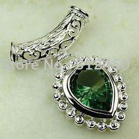 Suppry 5PCS wholeasle plata joyería de piedras preciosas topacio mysitc colgante joyas envío gratis LP0629 (China (continental))