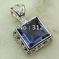 Joyas de plata caliente ventas hechas a mano de piedras preciosas joyas de amatista libre LP0022 de envío (China (continental))