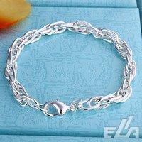 925 sterling silver bracelet charm chain bracelet fashion 925 silver jewelry