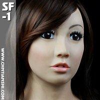 Latex Crossdresser Mask 'Julie' - Female Latex Masks - Realistic Masks