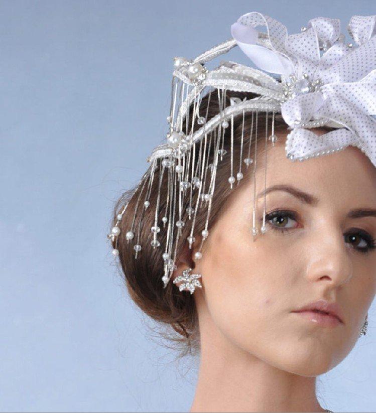 Bridal Tiaras Pageant Headdress DEAFAN Bridal wedding headwear Creative