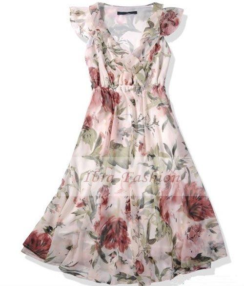 floral summer dresses on sale