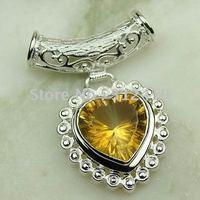 Joyería de moda de plata hechos a mano de piedras preciosas Topacio místico colgante de joyería de envío gratis LP0547 (China (continental))