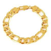 Pulsera de moda, de cobre, con pulsera de oro 18k, una pulsera de cadena, envío gratis (China (continental))