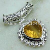 Joyas de plata caliente ventas hechas a mano de piedras preciosas joyas topacio místico envío gratis LP0013 (China (continental))