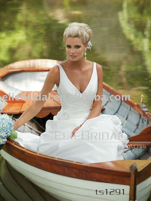 roman grecian style wedding dress