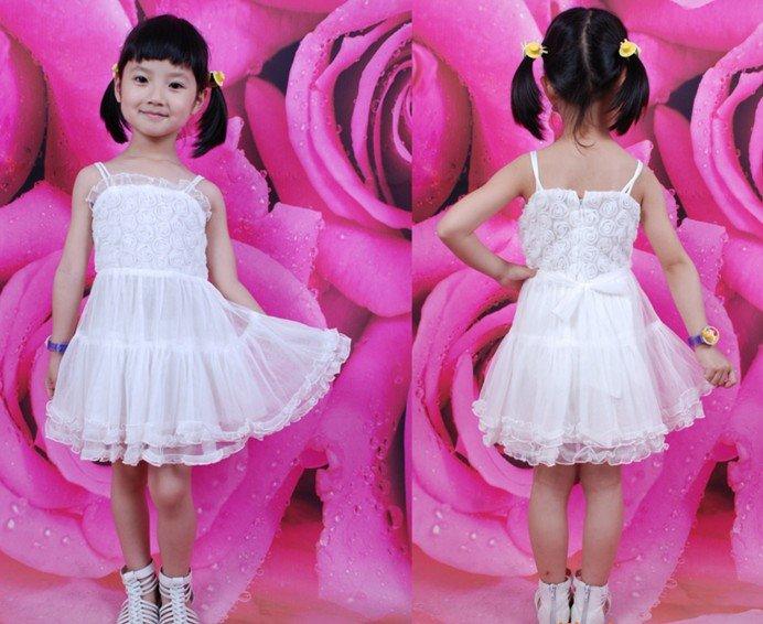 فساتين زفاف للبنوتات New-arrival-free-shipment-children-dance-dress-flower-girls-dresses-children-party-dress-children-one-piece