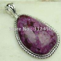 Joyería de plata hechos a mano esterlinas natrual envío turquesa joyas de piedras preciosas sin LP0454 (China (continental))