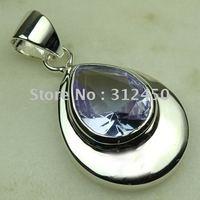 Joyería de moda de plata hechos a mano de piedras preciosas joyas de amatista libre LP0492 de envío (China (continental))