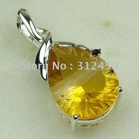 Suppry 5PCS moda de joyería de plata hechos a mano de piedras preciosas topacio místico envío joyas gratis LP0459 (China (continental))