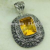 Suppry 5PCS moda de joyería de plata hechos a mano de piedras preciosas joyas topacio místico libre LP0472 de envío (China (continental))