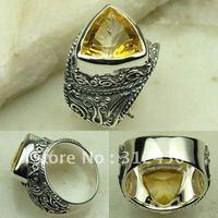 Nueva plata suppry joyas de piedras preciosas de cuarzo somky colgante joyas envío gratis LP0136 (China (continental))