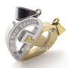 Retail + wholesale! 316L Stainless Steel love's Pendant Necklace 10019100(076242)
