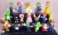 Free shipping!! Fashion Action PVC Figure Toy Model Super Mario Bros Luigi Action Figures(18pcs/set) G0232 on Sale Wholesale