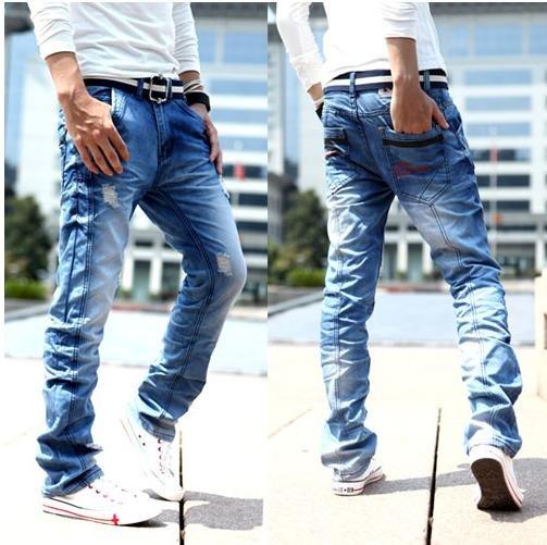 Faded Jeans Men