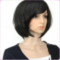 whole sale 1pcs can buy New Short Black Fashion BOB Wig