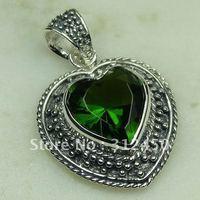 Suppry joyería de plata hechos a mano 5PCS peridoto natrual envío joyas de piedras preciosas sin LP0465 (China (continental))