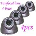 Wholesale (8)Wholesale 600TVLine 1/3''Sony CCD Varifocal 4-9mm CCTV Camera AR-VD120