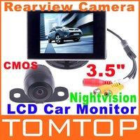 """4.3 """"цветной lcd монитор заднего автомобиля с led blacklight для камеры dvd видеомагнитофон"""