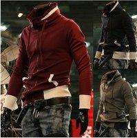 Мужская толстовка New Men's Jacket Hoodie NY Letter Baseball Uniform Baseball Coat Sweatshirt Cardigan M-XXL Black/Navy blue/Wine W1