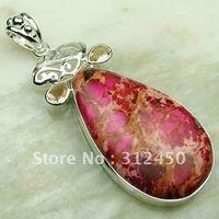 Wholeasle plata suppry joyas imperiales cono de piedras preciosas joyas colgantes envío gratis LP0145 (China (continental))