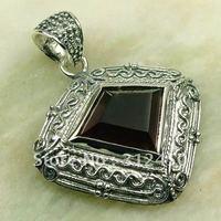 Plata Wholeasle joyas 5PCS piedra preciosa amatista colgante envío gratis LP0175 (China (continental))