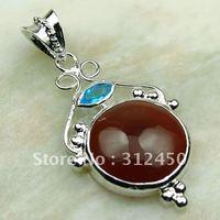 Plata joyería de moda de ágata de piedras preciosas joyas 5PCS envío gratis LP0181 (China (continental))