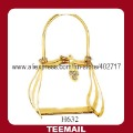 2013 new bag accessories for ladies's handbag with gold plating in hot sale