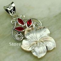 Suppry joyería de plata labrada concha 5PCS piedra colgante de joyería libre LP0283 de envío (China (continental))