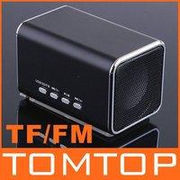портативный динамик ж / ЖК-дисплей usb мини-динамик tf mp3 музыкальный плеер fm радио
