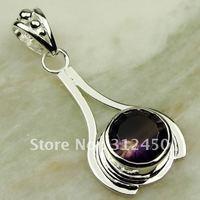 Moda joyas de plata 5PCS topacio místico colgante de piedras preciosas joyas de envío gratis a LP0433 (China (continental))