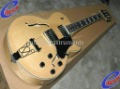 Natural wooden es137 natural semi hollow body Electric Guita 2011 arrival