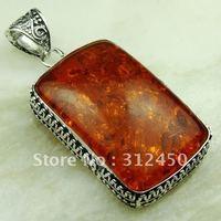 La libra esterlina de plata joyería hecha a mano de piedras preciosas joyas de cristal dochrpoc colgante libre LP0571 de envío (China (continental))