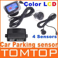 система датчиков парковки автомобилей привело дисплей 4 система обратного резервного копирования Радар парковки